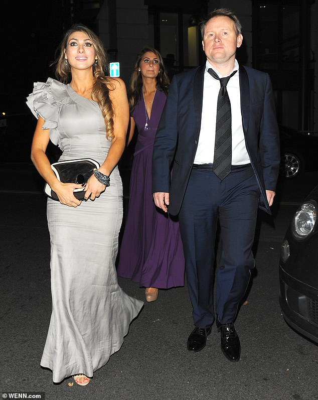 Beloved: She began dating Andrew (pictured in 2013) shortly after her marriage to Oliver Zissman broke down and he popped the question in October 2014 on a romantic trip to Paris