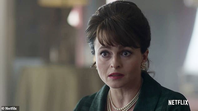 Apprehensive: Helena Bonham Carter, 54, has admitted The Crown bosses thought she was 'insulting' them when she didn't immediately agree to play Princess Margaret