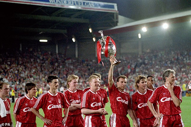 Liverpool had not lifted a first division title in 30 years, last lifting the trophy back in 1990
