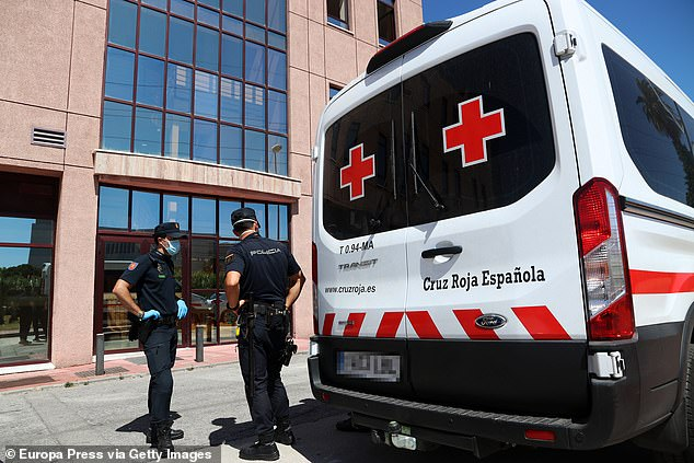 The spike in cases is believed to have stemmed from a staff member in Malaga's Red Cross centre, who had recently returned from the Canary Islands