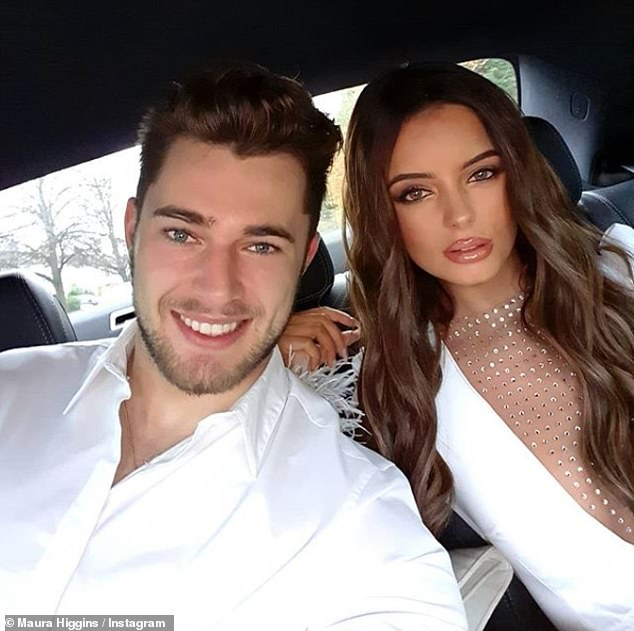 Heartache: Maura has been single since splitting from her Love Island beau Curtis Pritchard earlier this year