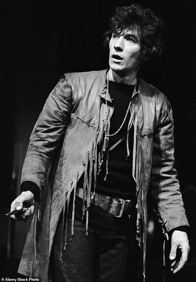 Sir Ian McKellen pictured as Hamlet in 1971