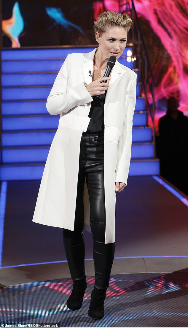 Replacement: Emma went on to present the series until it finished on Channel 5 in 2018 with Rylan hosting spin-off show Big Brother's Bit On The Side (pictured in 2018)