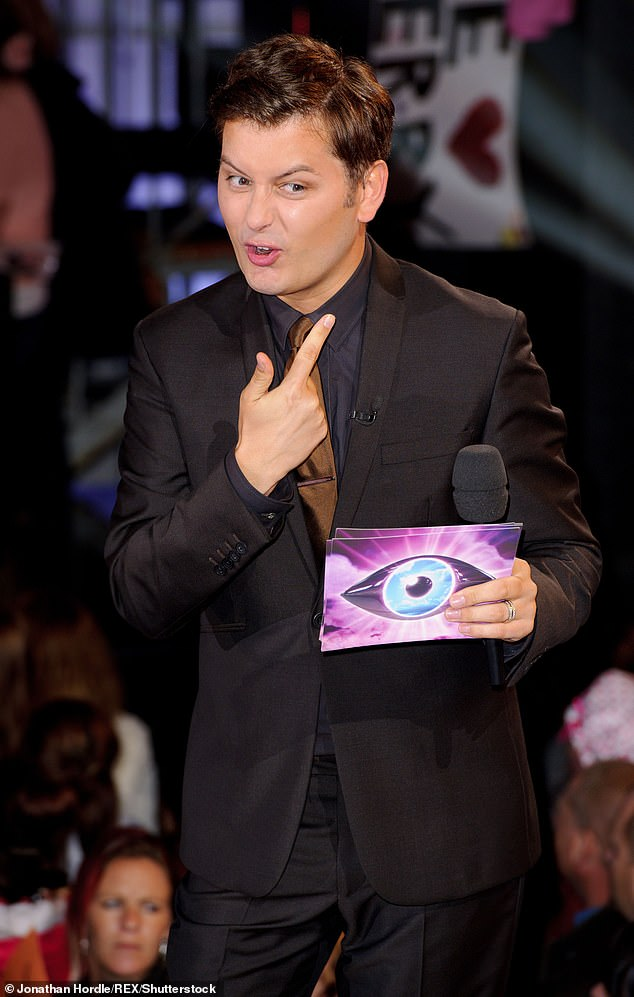 Having his say: Brian Dowling denounced Big Brother for having `` secret talks '' to hire Emma Willis behind his back (photo by the host of Big Brother in 2011)