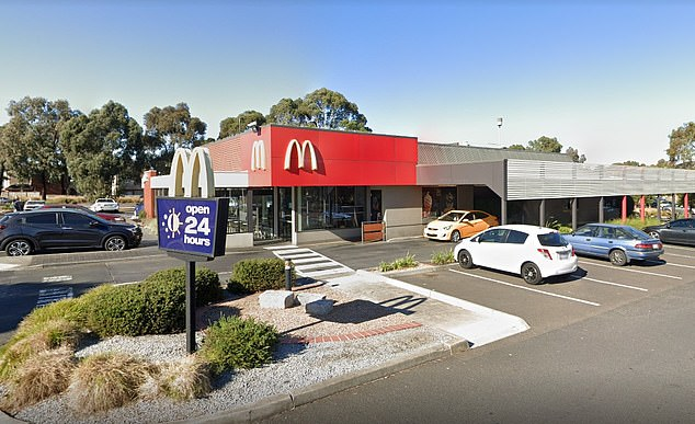 Staff at the McDonald's restaurant in Mill Park in the city's north were sent an email on Friday