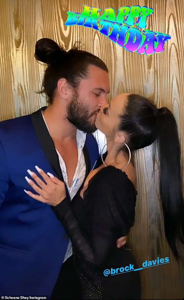 Loss: While traveling to San Diego earlier this month for Brock's birthday, Scheana said she felt `` off '' and panicked after bleeding all weekend