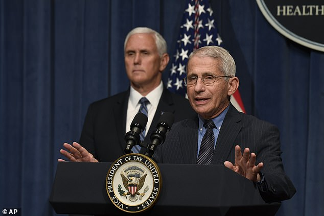 Dr. Anthony Fauci, Director of the National Institute of Allergies and Infectious Diseases, encouraged all Americans to take safety measures - including social distancing and wearing a face mask