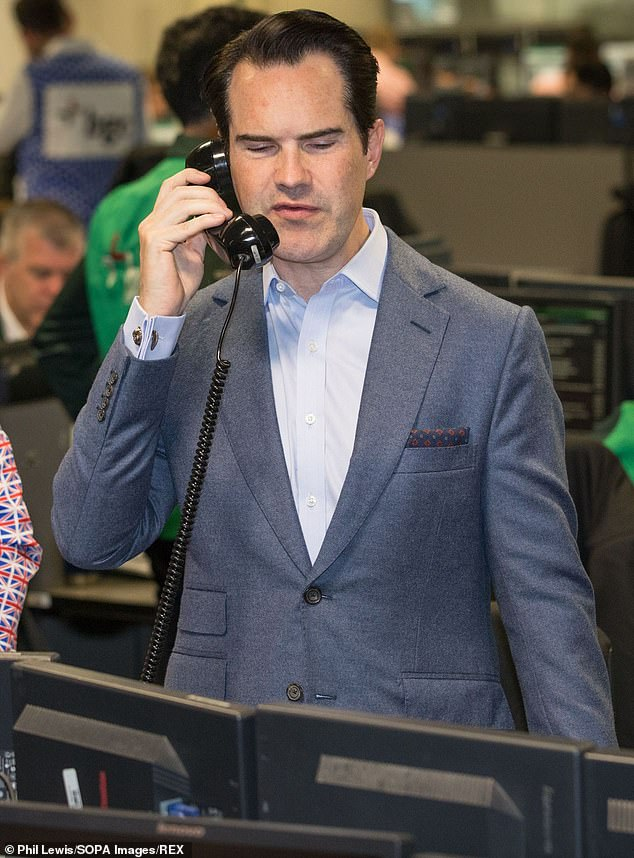 Jimmy Carr Reveals He Had Transparent Hair As He Shows Off His New Look Fr24 News English Since 2005, she's also served as the commissioning editor for five. jimmy carr reveals he had transparent