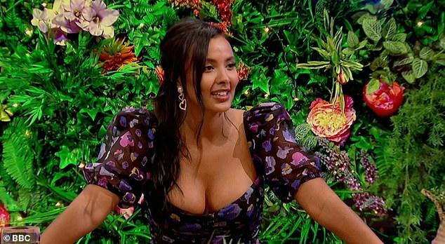 Cheeky! Maya roasts the star and says,