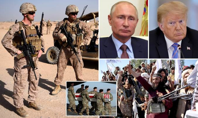 Russia paid the Taliban BOUNTIES for killing American troops in Afghanistan | Daily Mail Online