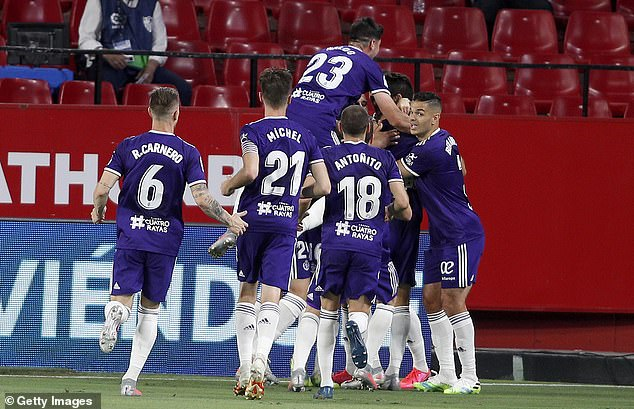 Kiko Olivas opened the scoring, giving Valladolid the lead within the first half of the game