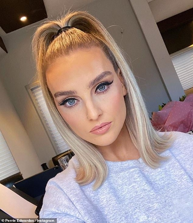New role: Perrie's exit comes after the announcement of her registration to become the new face of Nando