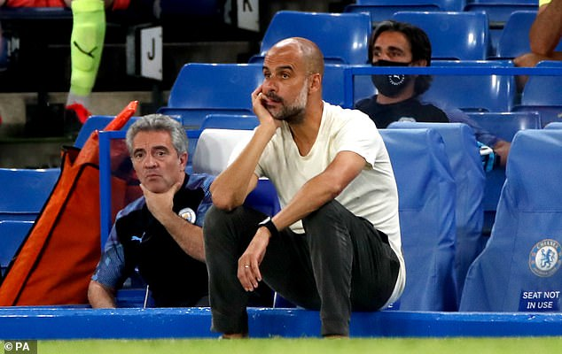 Manchester City has been closely linked to Pep Guardiola desperate to find defenders