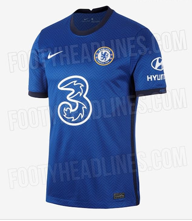 The all-blue home strip appears to match a kit leaked on Footyheadlines.com at the weekend