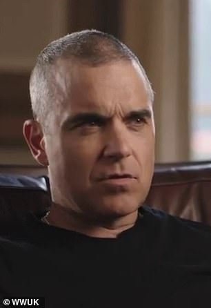 Candidate: Robbie Williams said he gained weight when he used to get high and run after leaving Take That