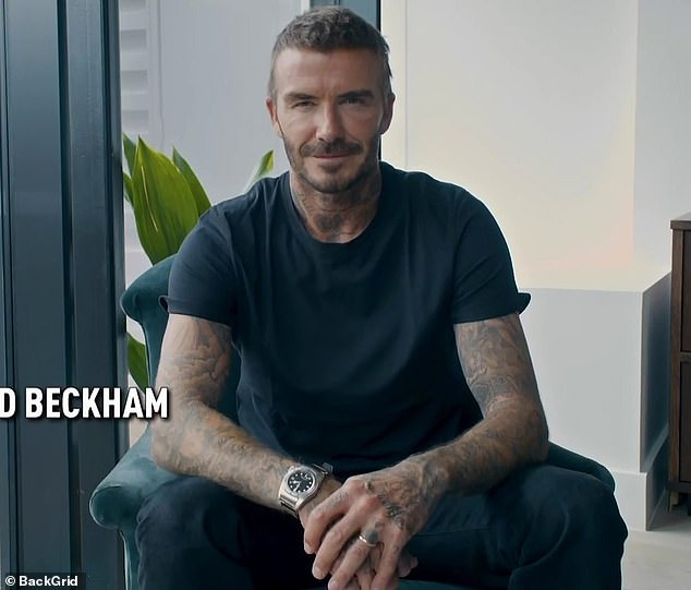 His point of view: David Beckham said: