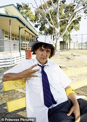 Pictured: Chris Lilley as Jonah