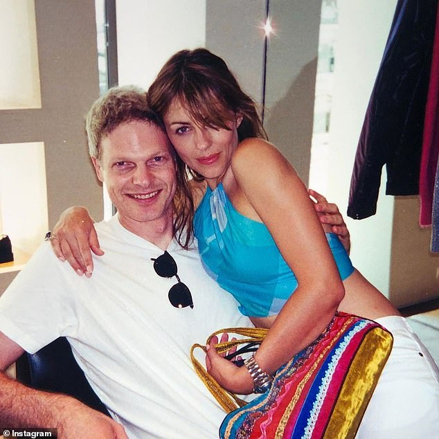 Steve Bing and Liz Hurley had been together for about a year in 2000, in an intermittent relationship