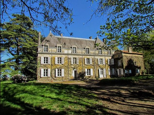 It needs a new roof, rewiring and renovation, but the Bouresse property in western France includes 13 acres of land, stables, outbuildings and six bedrooms and costs 325 £ 000.