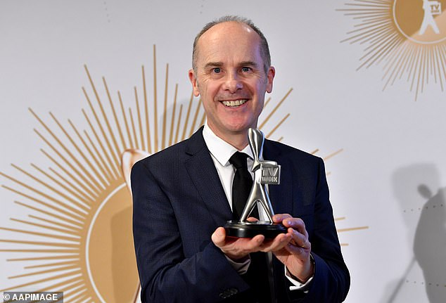'To be honest, the only reason we stopped was... we didn't want to overuse the people we loved,' he explained. Pictured at the Logie Awards on the Gold Coast in June 2019