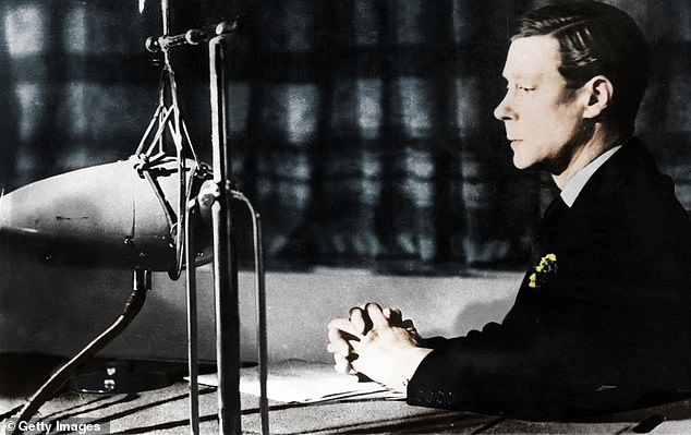 Edward VIII giving his abdication broadcast to the nation and the Empire, December 11, 1936
