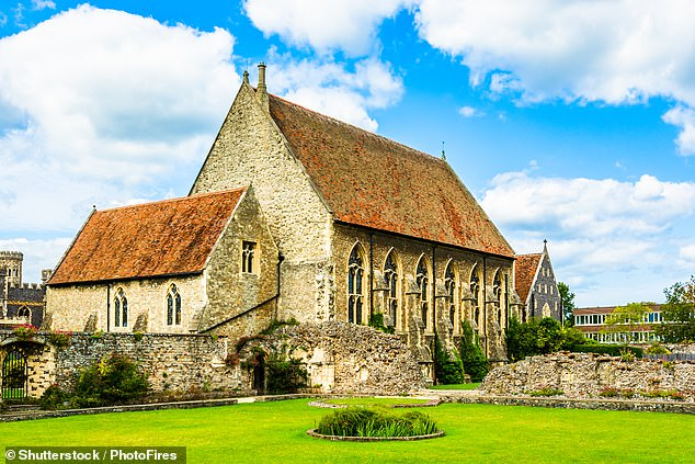 St Augustine's College chapel part of St Augustine's Abbey is a UNESCO World Heritage Site and one of the locations to get a 4G signal boost ahead of the expected 'staycation' boom