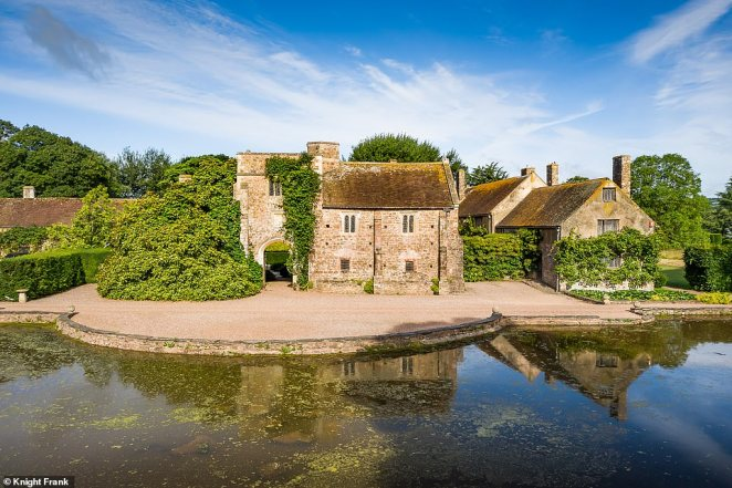 The Grade I-listed estate near Wellington, Somerset, is steeped in history stretching back to the 1400s and has been heralded as the finest medieval manor in England