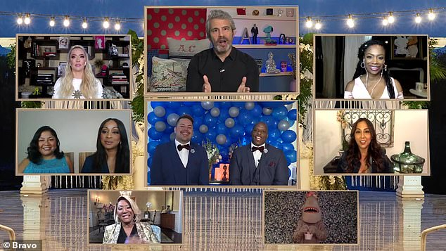 They do! Watch What Happens Live host Andy Cohen officiated a virtual wedding in honor of LGBT Pride Month during Sunday night's episode of his boozy Bravo talk show