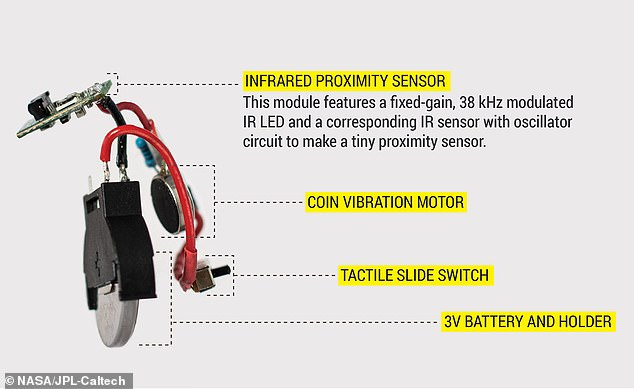 Called PULSE, the device uses an infrared proximity sensory with up to 12 inches of range and once motion is detected, a small vibration motor inside is activated