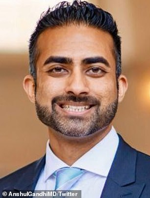 Anshul M. Gandhi, 34, an emergency room physician who once worked at Cedars-Sinai Medical Center in Los Angeles, has been charged with sexually assaulting four women
