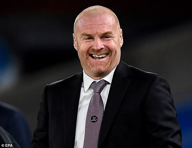 Delighted Sean Dyche sees his team climb to eighth place in the Premier League
