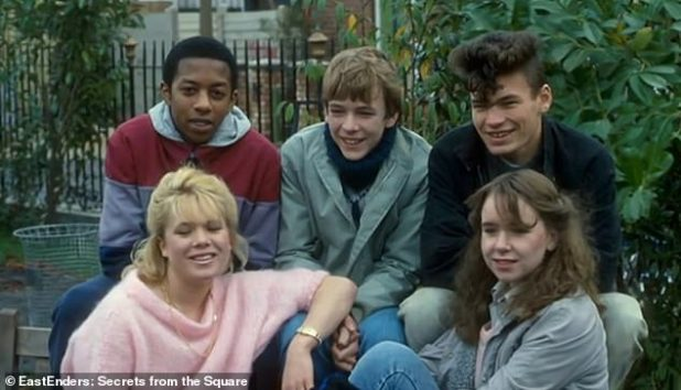 Sent home: Adam, who has played Ian Beale since the show began in 1985, said: 'We got properly, properly told off and sent home'