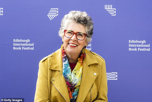 Great British Bake Off judge Prue Leith (pictured) has slammed Britain's 'unbelievably class-ridden' culture and has claimed that a societal divide exists when it comes to food in the UK