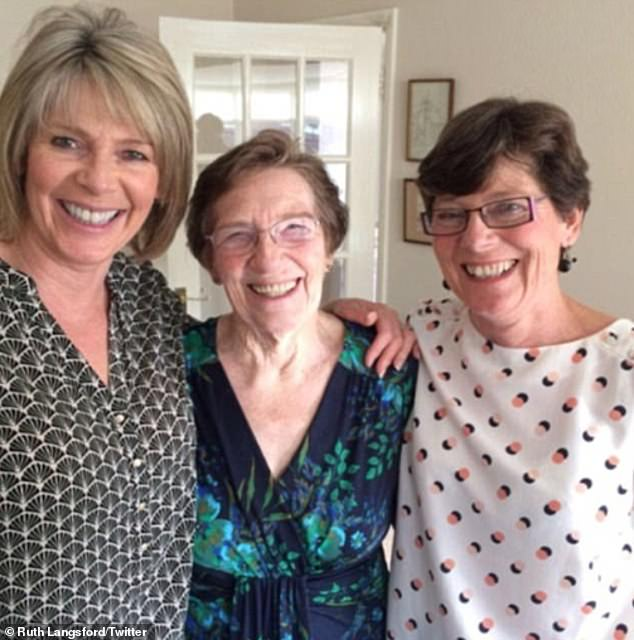 Family: Her sister was a landscape gardener and lived in Surrey with her husband Paul and daughter Katie (Ruth, their mother and Julia in 2018)