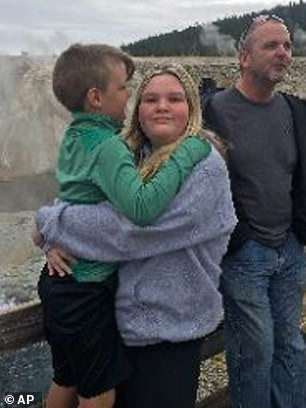 Tylee was last seen on September 8 when she visited Yellowstone National Park with her family (pictured)