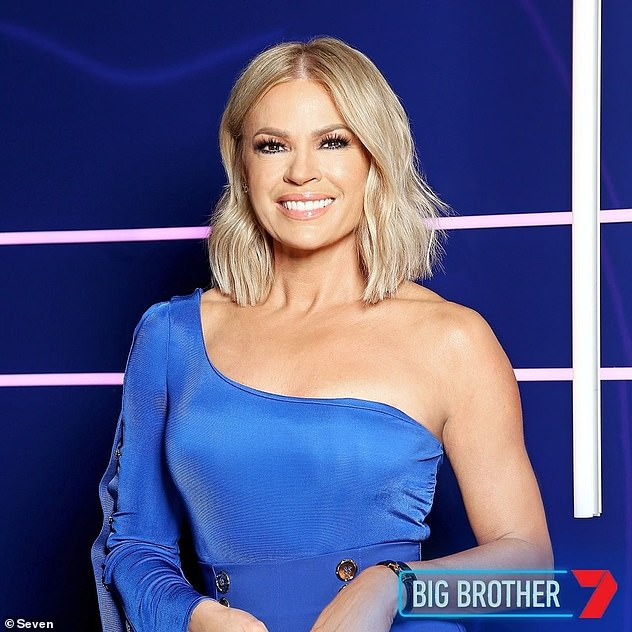 Tune in:Big Brother Australia continues on Sunday from 7pm on Seven. Pictured: Sonia Kruger