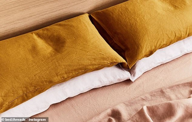The National Sleep Foundation recommends updating pillow collections every one to two years because old pillows gradually build up body oil, dead skin cells, hair and sweat that attract dust mites and can trigger allergies