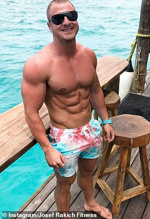 Personal trainer Josef Rakich (pictured)