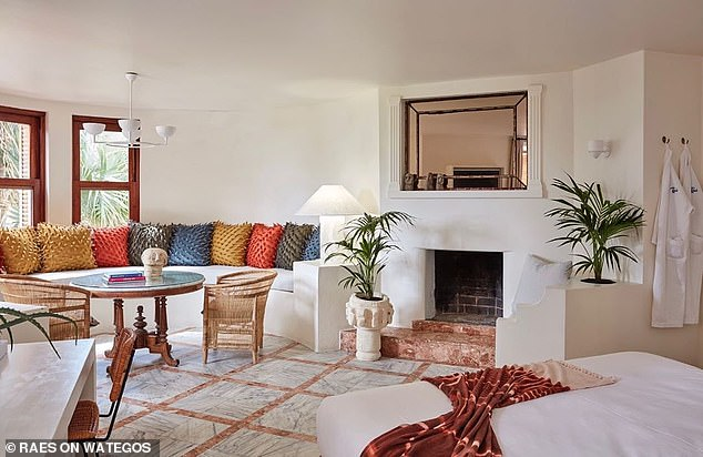 Location: Zac could also be staying at Raes on Wategos, a luxe hotel located onWategos Beach