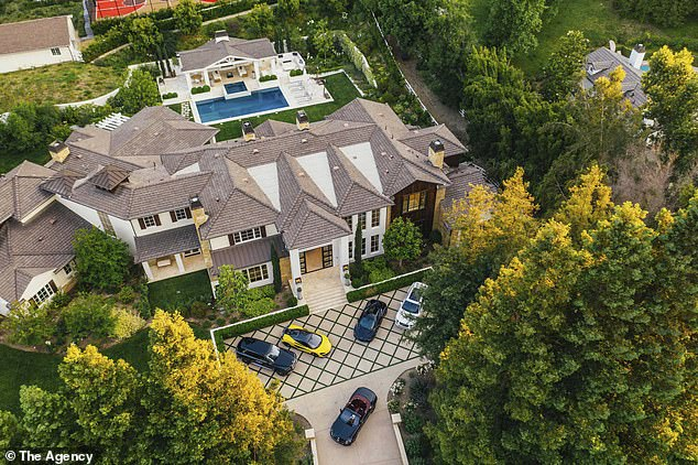 For sale:The Weeknd recently listed his Hidden Hills mansion for $25 million after buying the lavish home in 2017 for $18.2 million