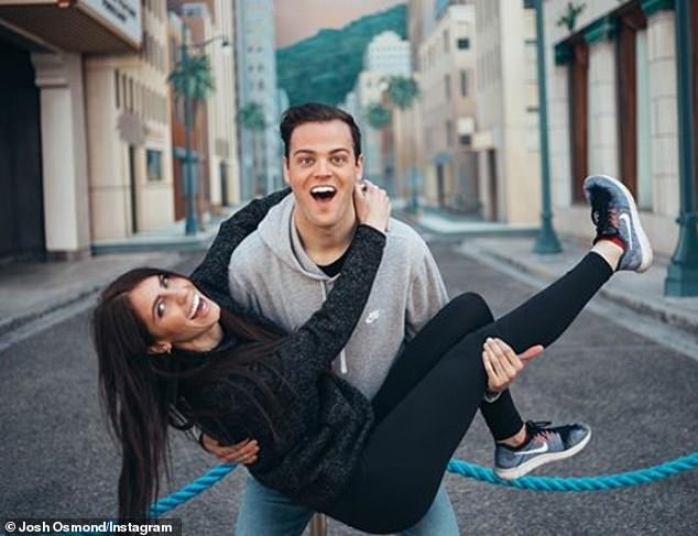 Hitched! Donny Osmond's youngest son Josh Osmond, 22, marriedSummer Felsted, 21, in a backyard ceremony on June 12 in Utah after their original plans were cancelled due to the ongoing COVID-19 pandemic