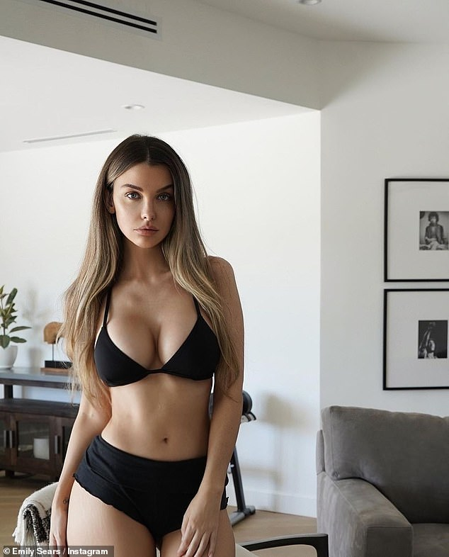 Health problems: The Australian model, 35, told her followers that she suffered a major seizure in April 2019 and was diagnosed with a 'cavernous malformation' or 'cavernoma', which she explained was a 'cluster of abnormal blood vessels in the brain that cause epileptic seizures'