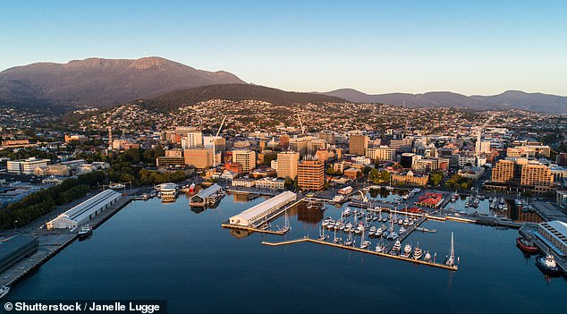 Hobart has Australia's highest proportion of pot smokers and alcoholics, anAustralian Criminal Intelligence Commission analysis of sewage samples found.Hobart Lord Mayor Anna Reynolds said higher rates of poverty in some parts of the Tasmanian capital had led to the drug abuse. Pictured is central Hobart on the Derwent River