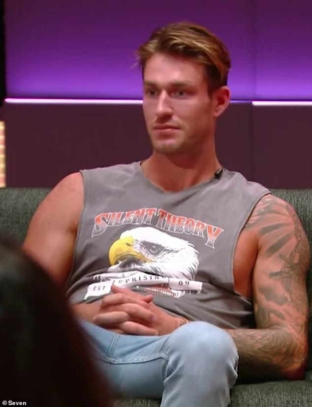 Chad: 'Angela, if you lie to too many people, you're going to end up on the couch'