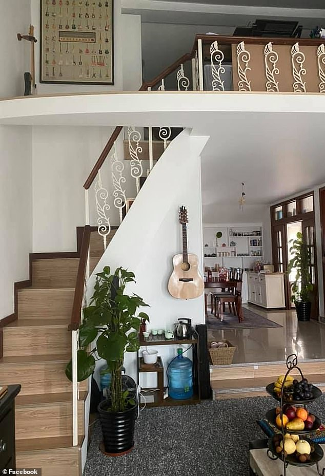 Talk about Grand Designs! 'Two loft spaces. One office space with heaps of storage. One loft space in my daughter's room where we had a custom staircase with built in storage built'