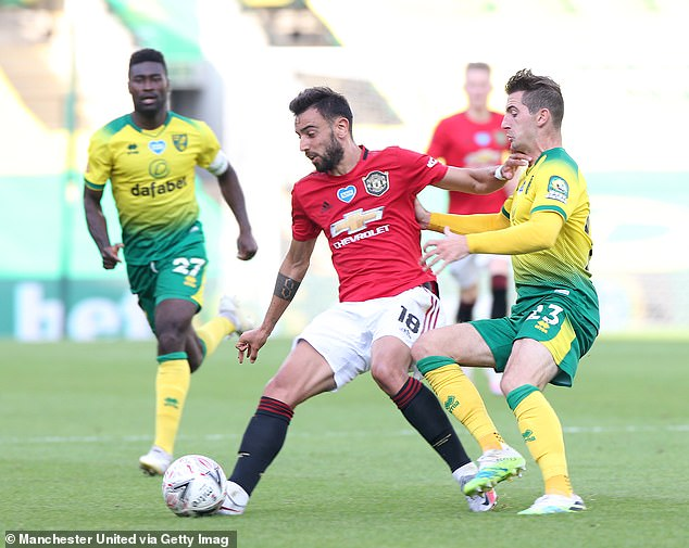 Fernandes' arrival has given Ole Gunnar Solskjaer plenty of options in his United midfield