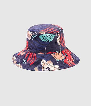 Cheaper items such as a floral patterned hat is selling for only $12