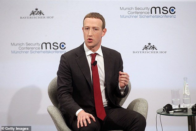 The company joined several US companies to stop advertising spending on Facebook (pictured, CEO Mark Zuckerberg in February) last week, fearing that the main social network may have failed to suppress hate messages.
