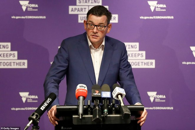 Premier Daniel Andrews on Tuesday afternoon revealed 928 residents in the two Melbourne suburbs had refused the swab