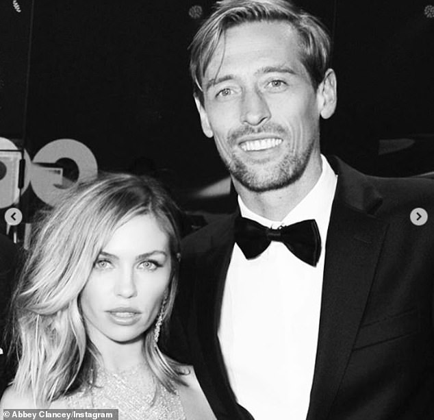 Night out:And a further image saw the pair dressed up to the nines as they headed out to a glam event together